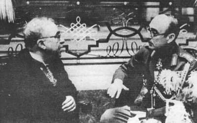 Ιωάννης Μεταξάς και Αλέξανδρος Παπάγος