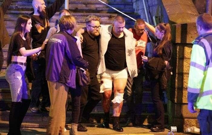 Τρομοκρατικό κτύπημα στο Μάντσεστερ