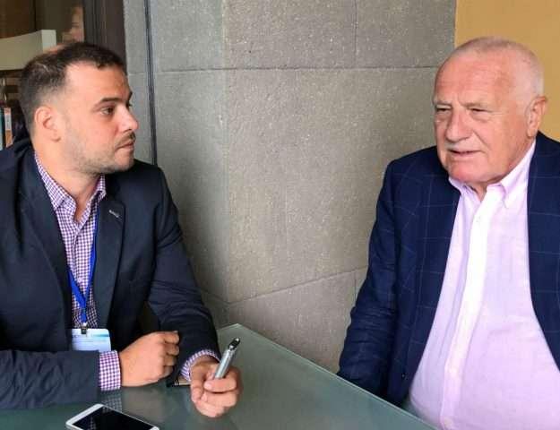 Συνέντευξη του Βάτσλαβ Κλάους στον Δημήτρη Παπαγεωργίου