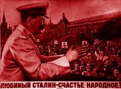 Ο Στάλιν και οι χειροκροτητές του