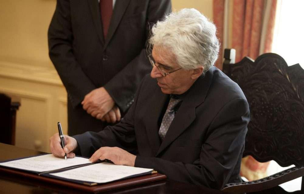 Ο τ. υπουργός Δικαιοσύνης Ν. Παρασκευόπουλος