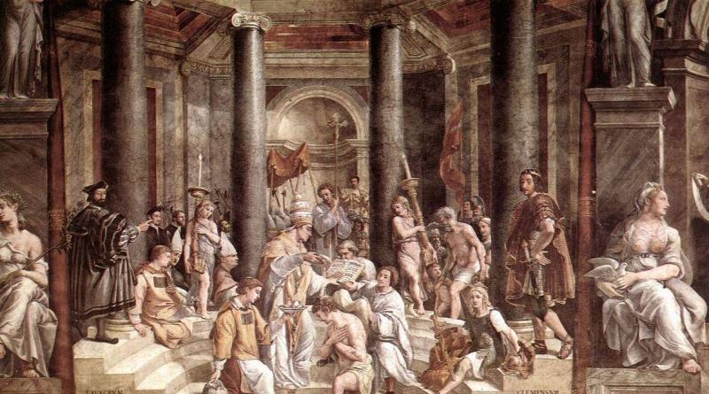 Η βάπτιση του Μεγάλου Κωνσταντίνου (Ραφαέλ)